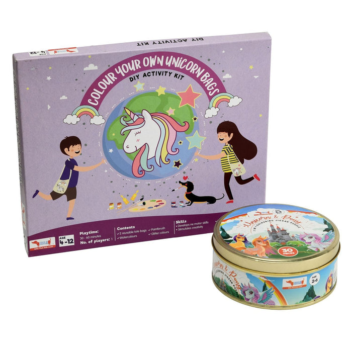 Unicorn And Ponies - Combo Pack (3 - 7 Year Olds)