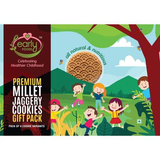 The Nestery : Early Foods - Gift Box - Premium Millet Jaggery Cookies