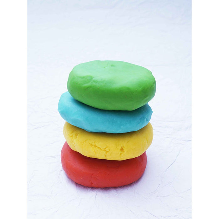 Natural Play Dough - 4 Colours