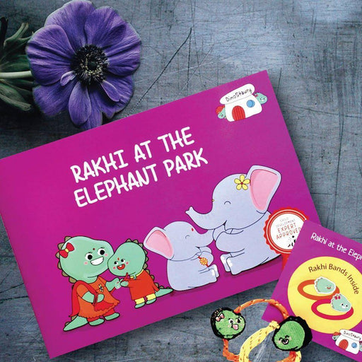 The Nestery: Dinostaury - Rakhi At The Elephant Park