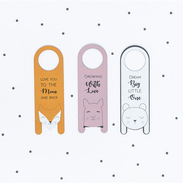 The Nestery : The Clever Fox - Door Hanger - The Bear