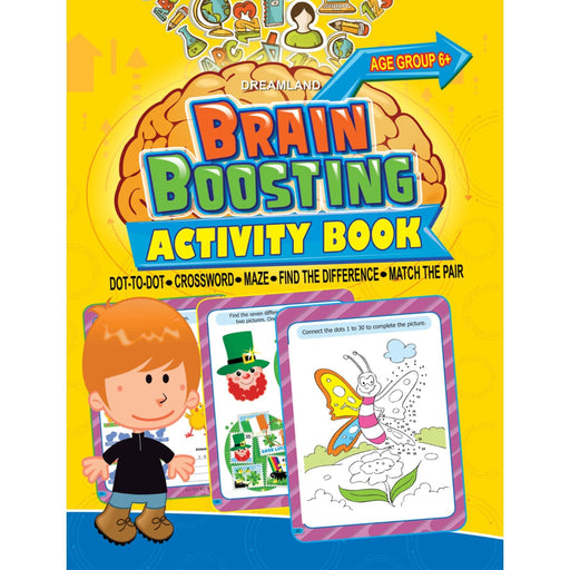 The Nestery : Dreamland Publications - Brain Boosting - Crossword (Age 6+)
