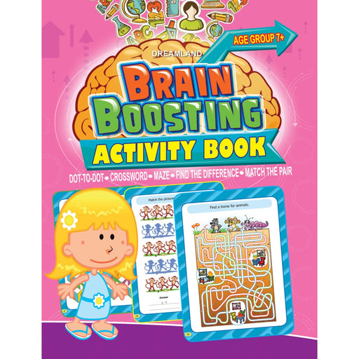 The Nestery : Dreamland Publications - Brain Boosting - Dot To Dot (Age 7+)