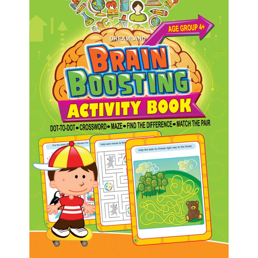 The Nestery : Dreamland Publications - Brain Boosting - Find The Difference (Age 4+)