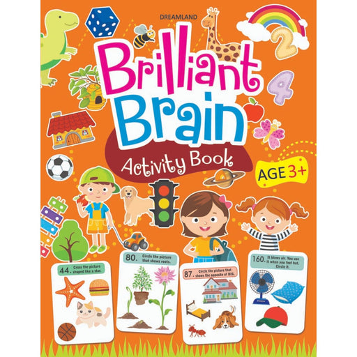 The Nestery : Dreamland Publications - Brilliant Brain Activity Book 3+