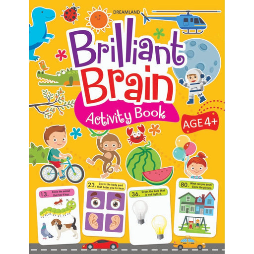 The Nestery : Dreamland Publications - Brilliant Brain Activity Book 4+
