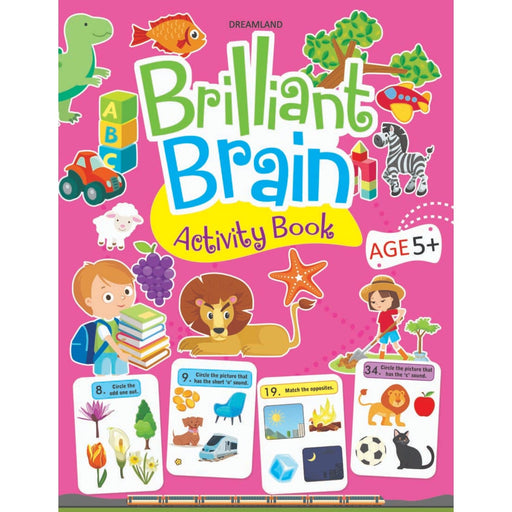 The Nestery : Dreamland Publications - Brilliant Brain Activity Book 5+