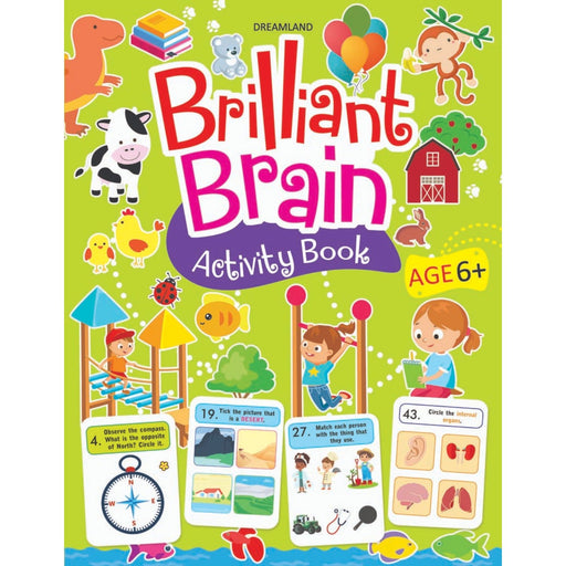 The Nestery : Dreamland Publications - Brilliant Brain Activity Book 6+
