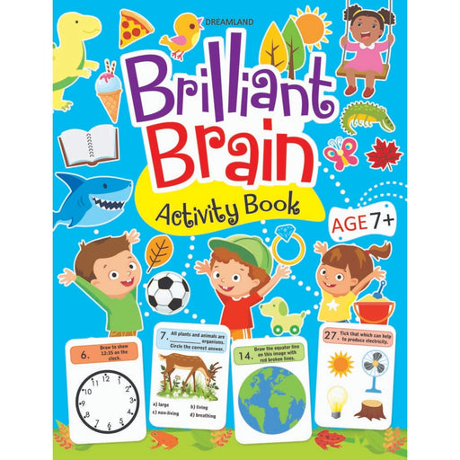 The Nestery : Dreamland Publications - Brilliant Brain Activity Book 7+