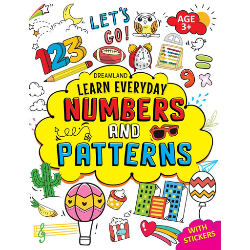 The Nestery : Dreamland Publications - Learn Everyday Numbers And Patterns- Age 3+