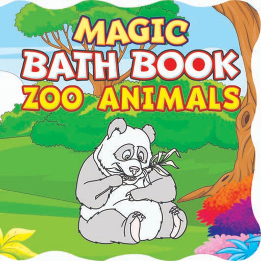 The Nestery : Dreamland Publications - Magic Bath Book  - Zoo Animals