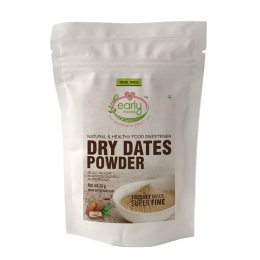 The Nestery: Early Foods - Trial Packs - Dry Dates Powder - Natural Sweetener - [50 Gms]