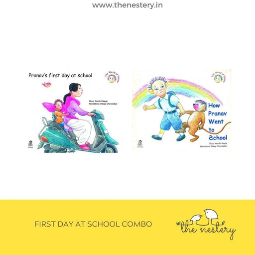 The Nestery: Eklavya - First Day At School Combo