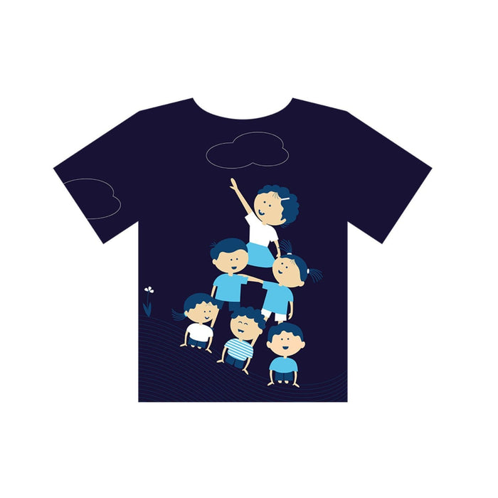 The Nestery : Equalitee - Tshirt - Activity Blue