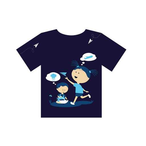 The Nestery : Equalitee - Tshirt - Creativity Blue
