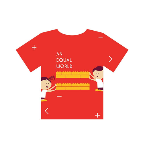 The Nestery : Equalitee - Tshirt - Equality Red