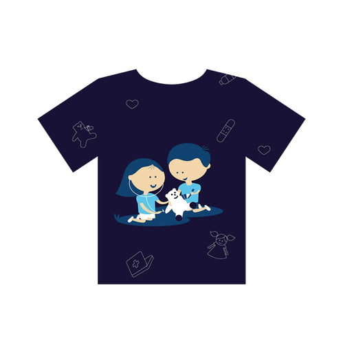 The Nestery : Equalitee - Tshirt - Sensitivity Blue