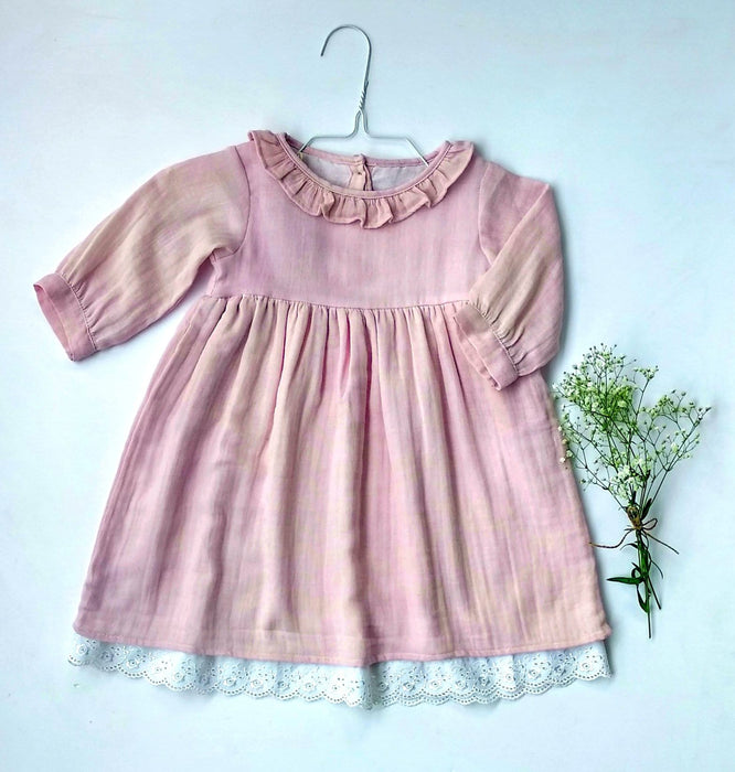 The Nestery: Essika Kids - Angel Dress - Pink