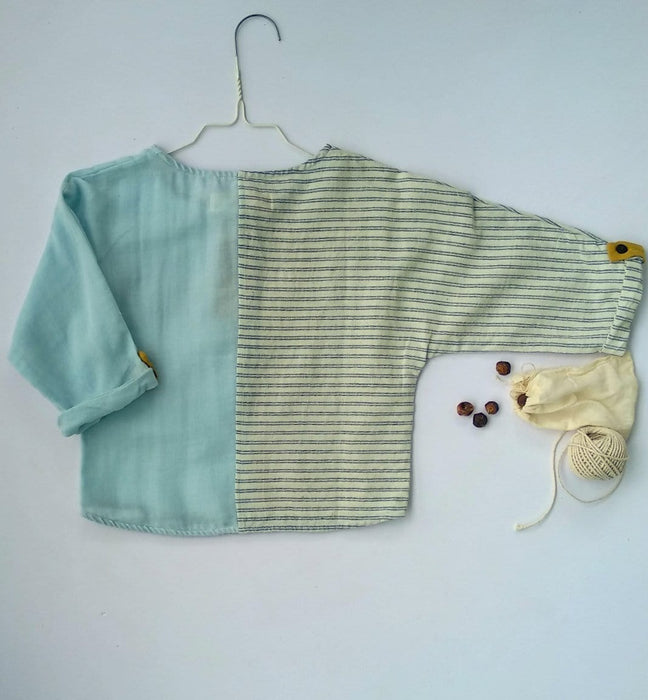 The Nestery: Essika Kids - Lollipop Shirt - Blue