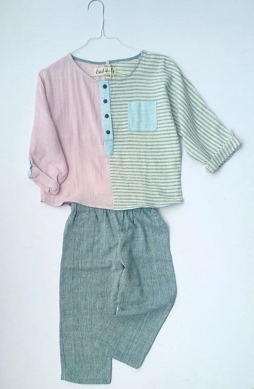 The Nestery: Essika Kids - Lollipop Shirt - Pink
