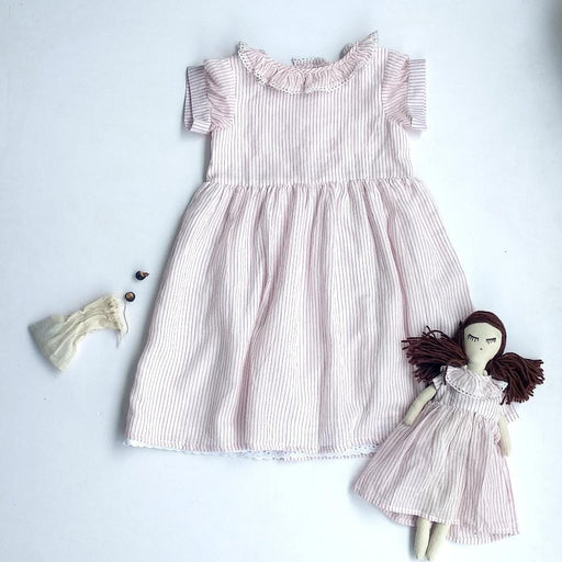 The Nestery: Essika Kids - Mary Dress - Red Stripes