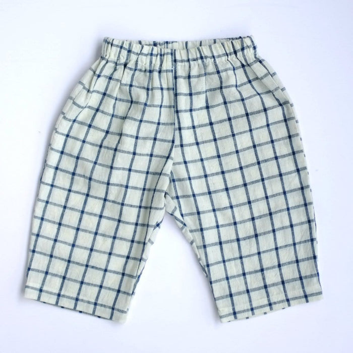 The Nestery: Essika Kids - Unisex Pants - Checks