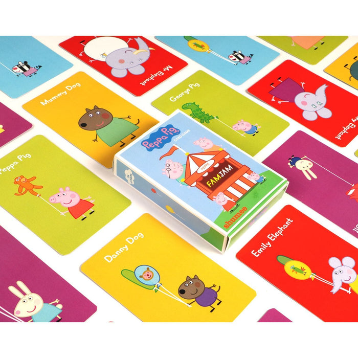 The Nestery: Shumee - Peppa Pig Famjam 48 Pieces Card Game