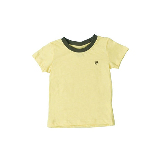 The Nestery : Greendigo Playtime Tshirt With Half Sleeves Sunshine