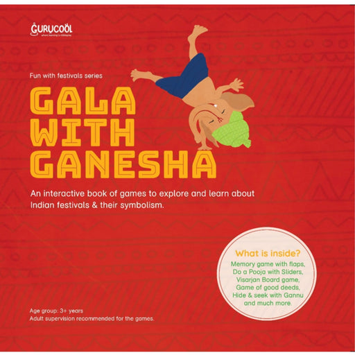 The Nestery : Gurucool - Gala With Ganesha- Activity Book
