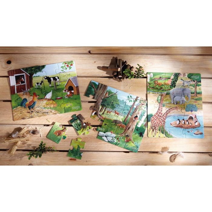 The Nestery: Haba - Jigsaw Puzzle - Animals