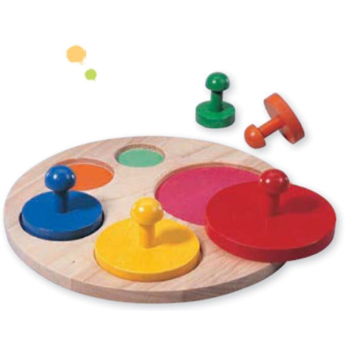 The Nestery: Haba Toys - Sorting Board Circles