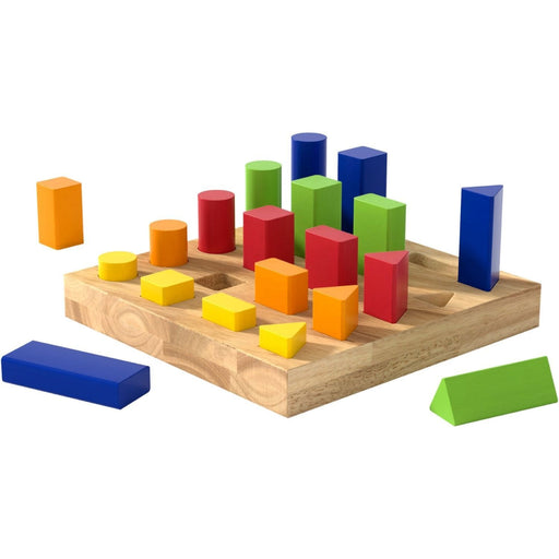 The Nestery: Haba Toys - Sorting Board - Shapes & Colours