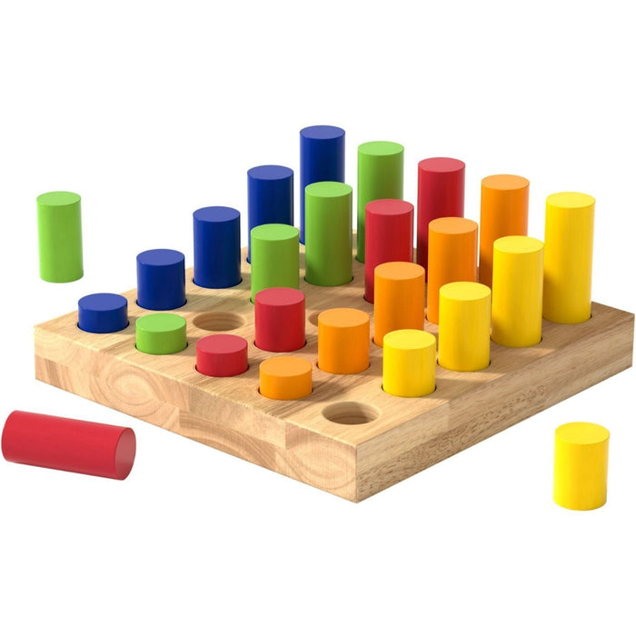 The Nestery: Haba Toys - Sorting Board - Step By Step