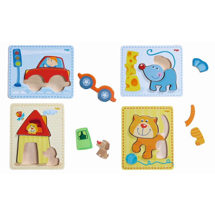 The Nestery: Haba Toys - Puzzles Set