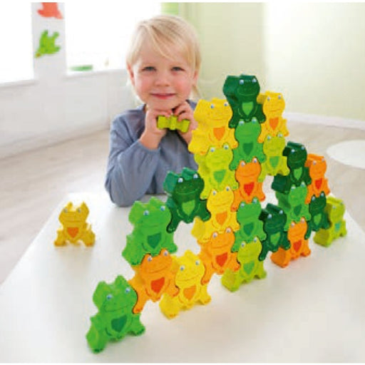 The Nestery: Haba Toys - Parquet Frogs 3D