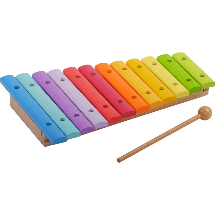 The Nestery: Haba Toys - Colored Xylophone