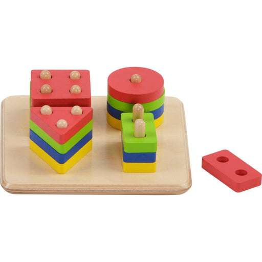 The Nestery: Haba Toys - Sorting Board Geo