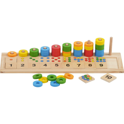 The Nestery: Haba Toys - Rings, Colours & Numbers