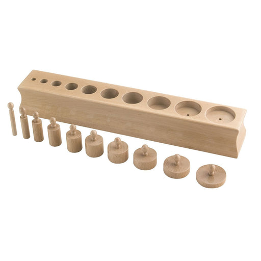 The Nestery: Haba Toys - Cylinder Blocks - Set 2
