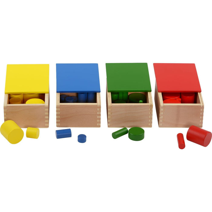 The Nestery: Haba Toys - Knobless Cylinders