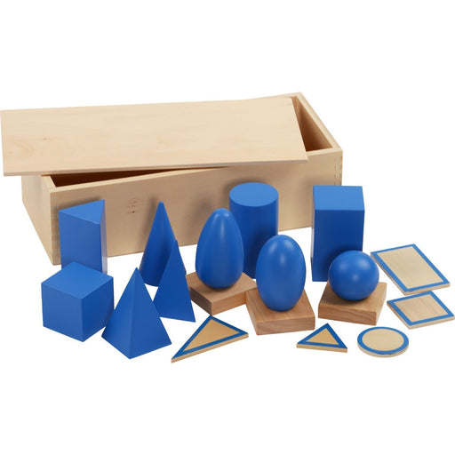 The Nestery: Haba Toys - Geometric Solid With Stands