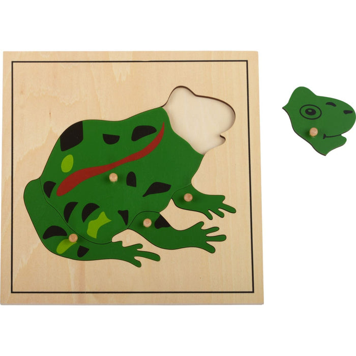 "The Nestery: Haba Toys - Animal Puzzle ""Frog"""