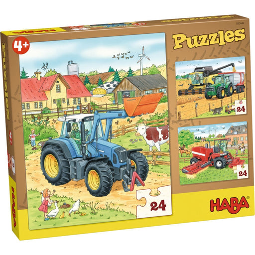 The Nestery: Haba - Jigsaw Puzzle - Tractor And Co.