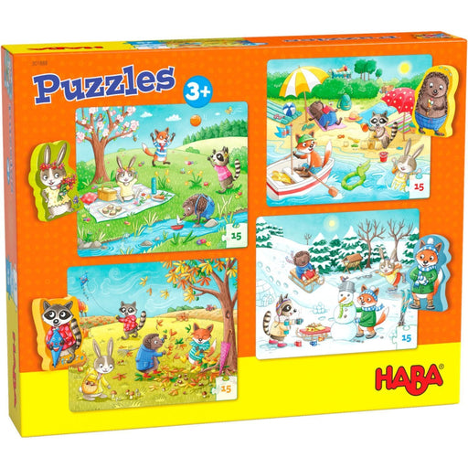 The Nestery: Haba - Jigsaw Puzzle - The Seasons