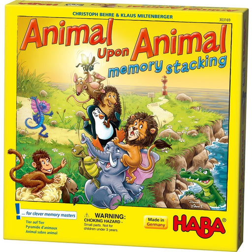 The Nestery: Haba - Animal Upon Animal – Stacking Memory