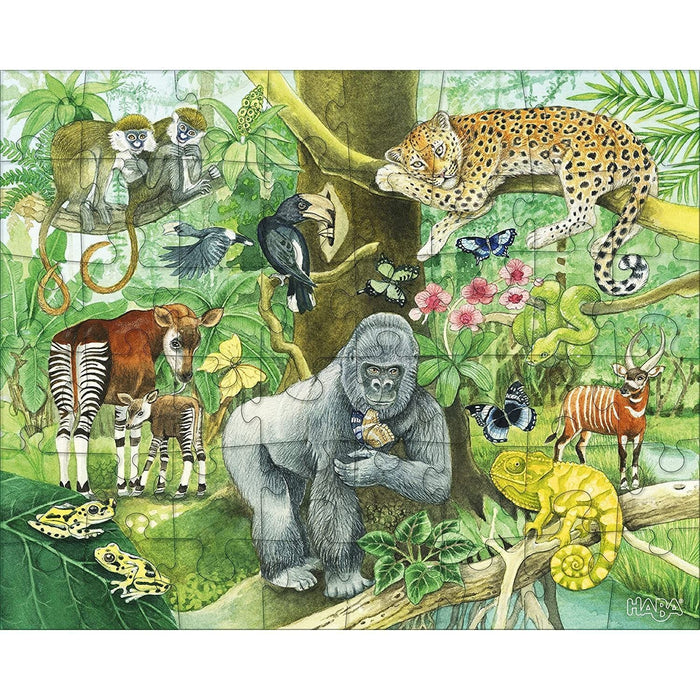 The Nestery: Haba - Jigsaw Puzzle - The Wild Animals Of Africa