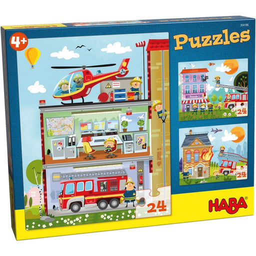 The Nestery: Haba - Jigsaw Puzzle - Little Fire Station