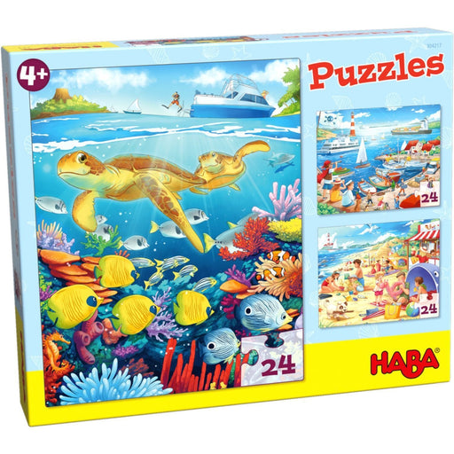 The Nestery: Haba - Jigsaw Puzzle - Seaside