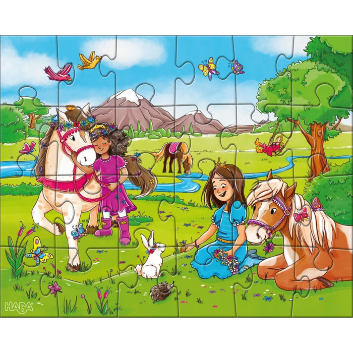 The Nestery: Haba - Jigsaw Puzzle - Horse Girls