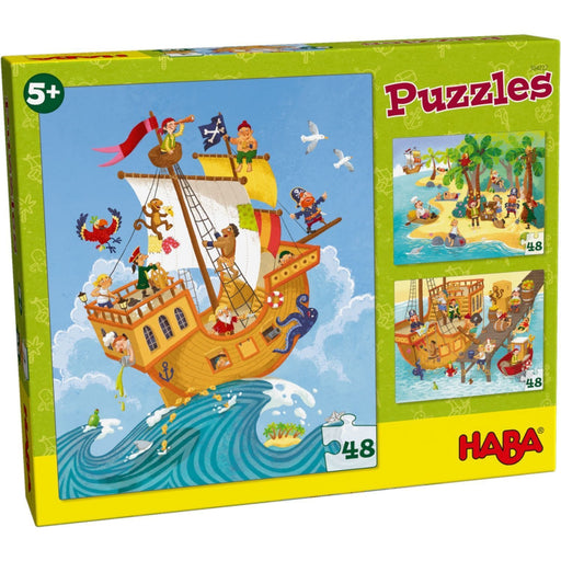 The Nestery: Haba - Jigsaw Puzzle - Pirate Scene